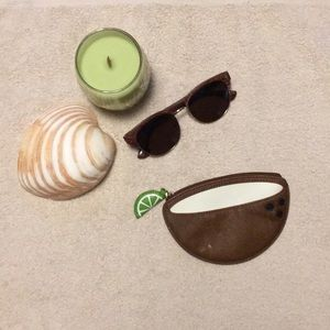 Kate Spade Lime in my Coconut Coin Purse